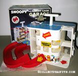 Snoopy's Garage Carrying Case with Detachable Ramps