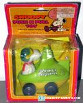 Snoopy's Helicopter Push N Pull Car