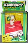 Snoopy Flying Ace & his Dog house Friction Car