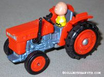 Charlie Brown on Red Tractor