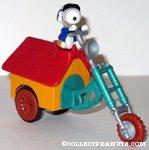 Snoopy Joe Cool Doghouse Chopper Motorcycle