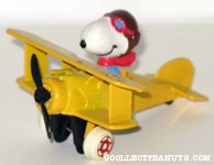 Snoopy Flying Ace in Plane
