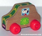 Joe Cool Wooden Car