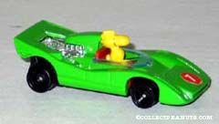 Woodstock in Green Race Car