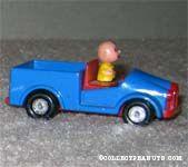 Charlie Brown in Blue Truck