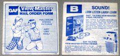 Viewmaster Catalog