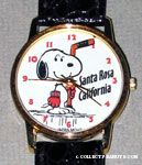 Snoopy holding hockey stick