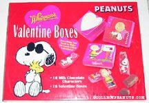 Peanuts Valentine Boxes
