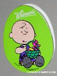 Charlie Brown holding Easter Egg Egg-Shaped Chocolate Box