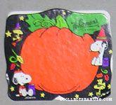 Snoopy & Woodstock Black & Orange Halloween Figure Chocolate Box
