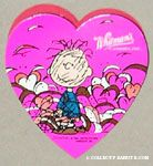 Pigpen with heart dust Heart-shaped Valentine's Chocolate Box