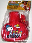 Snoopy picnicking with Beaglescouts Canteen