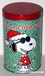 Joe Cool Santa 'Have a Cool Yule' Popcorn Tin
