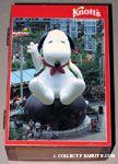 Knott's Camp Snoopy Postcard Cedar Trinket Box