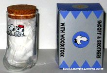 Snoopy & Olaf Boot Glass with Cork