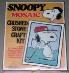 Snoopy Mosaic Crushed Stone Craft Kit