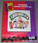 Peanuts Gang Cross-stitch Kit