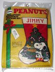 Snoopy & Woodstock with Christmas Tree Stocking Kit