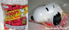 Snoopy head with comics toy Snoopy & the Peanuts Gang Series
