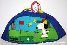 Snoopy & Woodstock on golf course Cover