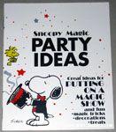 Peanuts & Snoopy Party Idea Books