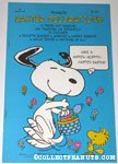 Easter Beagle Snoopy and Woodstock Easter Press-out Book