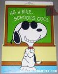 Joe Cool in School Press-out