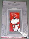 Snoopy dancing Party Door Decoration