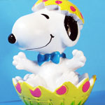 Peanuts & Snoopy Easter Whitman's PVC Figurines