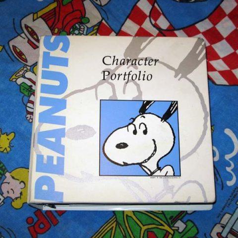 Peanuts Character Portfolio
