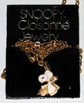 Snoopy with easter basket Necklace