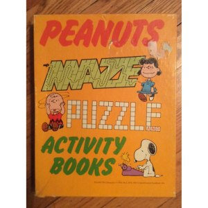 Peanuts Activity Books