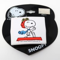 Snoopy Flying Ace on doghouse Hair Clip
