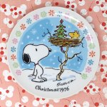 Snoopy 1976 Christmas Plate