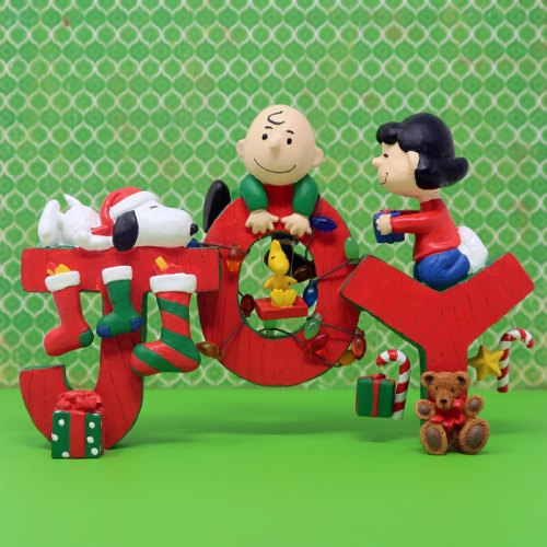 Peanuts 'Joy' Christmas Figurine
