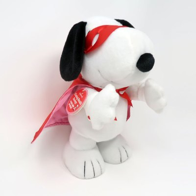 Snoopy kissing Bandit Valentine's Day Plush Toy