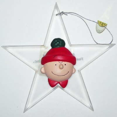 Charlie Brown Star Ornament