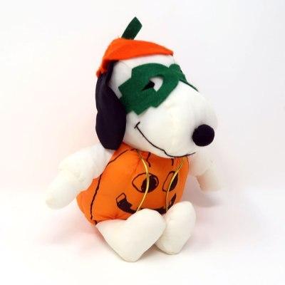 Snoopy Pumpkin Halloween Plush