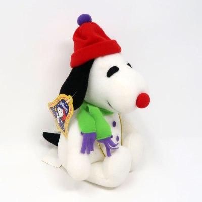 Snoopy hat & scarf Christmas Plush