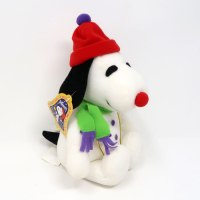 Snoopy hat & scarf Christmas Plush