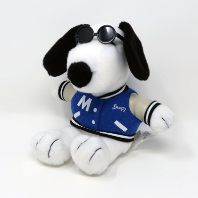 Joe Cool Letter Jacket Snoopy Plush