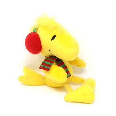 Woodstock with earmuffs and scarf Beanie Plush Toy