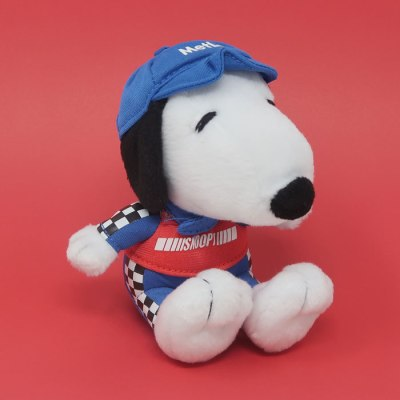 Race Car Driver Snoopy Plush Toy