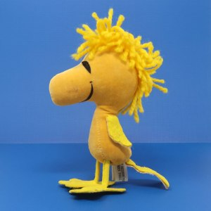 Woodstock Suede Felt and Yarn Standing Doll