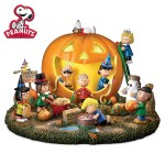 Peanuts Halloween Figurine from the Bradford Exchange
