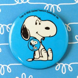 Click to view Peanuts Pinback Buttons