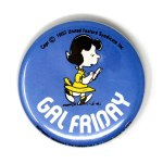 Lucy Gal Friday Button