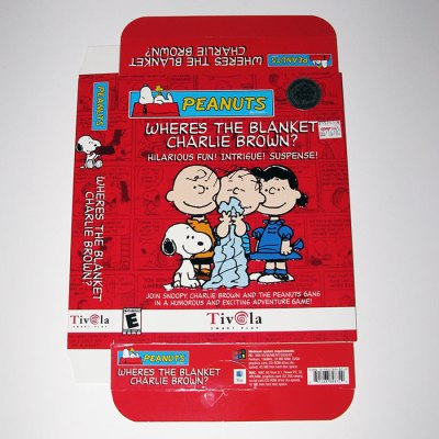 Where's the Blanket, Charlie Brown? CD-Rom Game