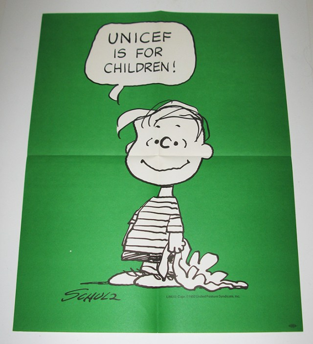 Linus UNICEF Poster