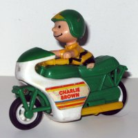 Charlie Brown Motorized Jump Cycle